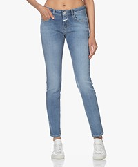 Closed Baker Long Slim-fit Jeans - Mid Blue