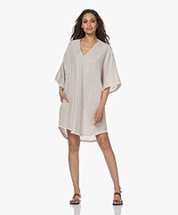 Resort Finest Camilla Oversized Linnen Tuniek - Warm Zand
