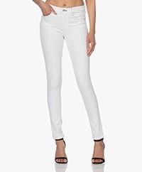 Rag & Bone Cate Mid-Rise Skinny Jeans - White