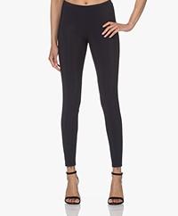 Woman by Earn Mae Tech Jersey Slim-fit Pants - Navy