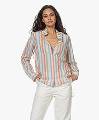 Vanessa Bruno Druyat Sriped Shirt - Multi-color