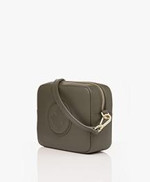 By Malene Birger Gemma Mini Shoulder Bag - Olive Night