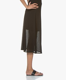 Filippa K Mesh Skirt - Black