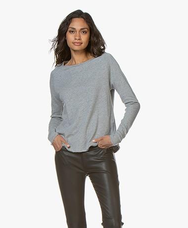 American Vintage Sonoma Sweatshirt - Grijs Mêlee