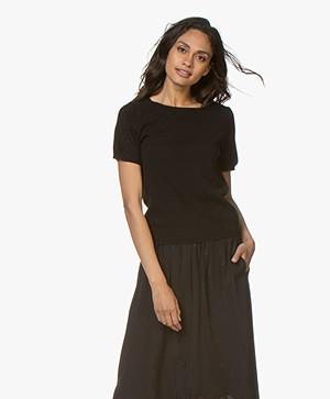 Resort Finest Lido Pullover met Ronde Hals - Zwart