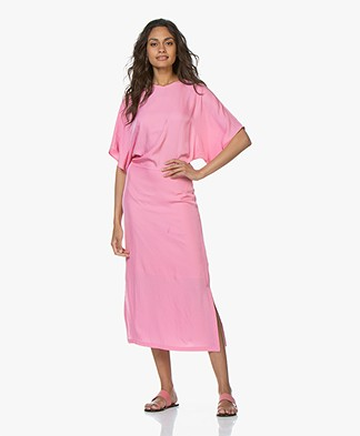 Filippa K Kimono Sleeve Jurk - Waterlily