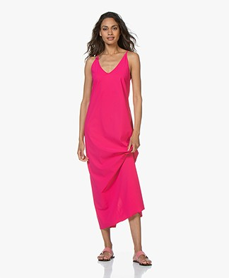 JapanTKY Tara Travel Jersey Maxi Dress - Fuchsia