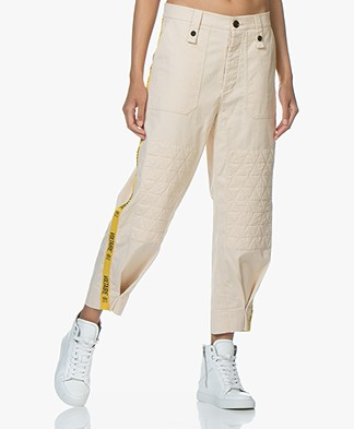 Zadig & Voltaire Pia Band Broek - Sable