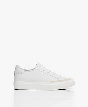 Rag & Bone RB Army Low Leren Sneakers - Off-white