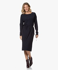 Josephine & Co Joan Travel Jersey Jurk - Navy
