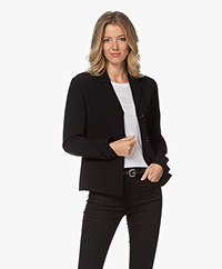 Filippa K Maylene Sustainable Tailored Jacket - Black