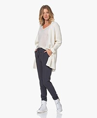 By Malene Birger Ursula Open Alpaca Blend Cardigan - Soft White