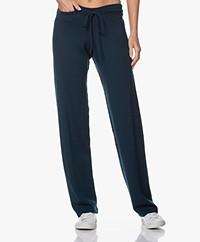 Sibin/Linnebjerg Tillie Merino Knitted Pants - Solid Petrol