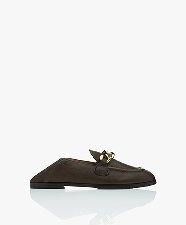 See by Chloé Mahe Lamsleren Loafers - Bruin