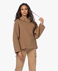 Closed Pinedale Virgin Wool Blend Sweater - Dark Tan