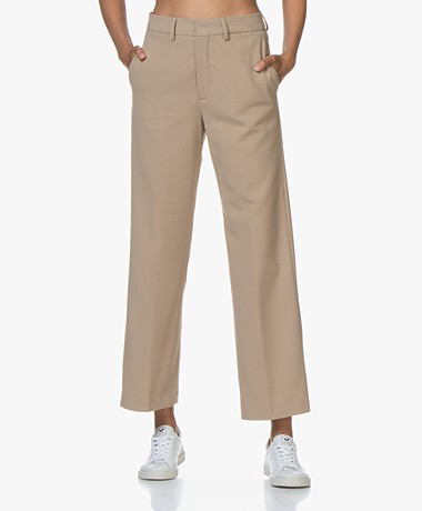 Closed Blaire Twill Culottes - Honey