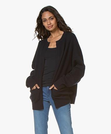 Extreme Cashmere N°107 Jacket Cardigan - Navy