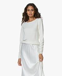 Resort Finest Forte Pullover met Ronde Hals - Off-white