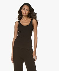 Filippa K Cotton Stretch Tank Top - Black
