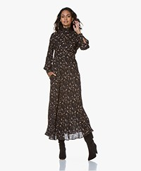 IRO Casual Printed Maxi Dress  - Black/Multi