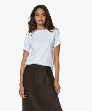 Filippa K Organic Cotton T-shirt - Wit