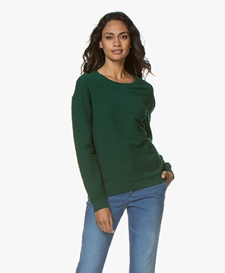 Majestic Filatures French Terry Sweatshirt - Forest