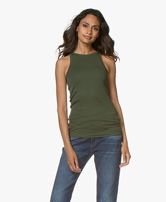 By Malene Birger Amiee Tanktop - Tent Green