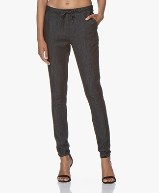 Woman by Earn Fae Denim Pants - Navy