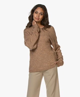 BY-BAR Mo Mohair Blend Pullover - Camel