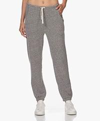 American Vintage Plomer Cotton Blend Sweatpants - Grey Melange