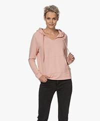 Majestic Filatures Soft Touch Jersey Capuchontrui - Soft Pink
