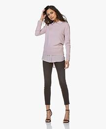 Filippa K Toni Silk Blouse - Frosty Pink