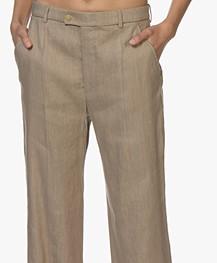 Joseph Tropez Linnenmix Pantalon - Beige