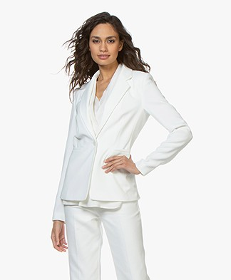 Drykorn Golders Tailored Blazer - Off-white