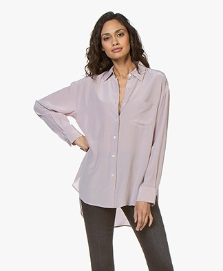 Filippa K Toni Silk Blouse - Frosty Pink