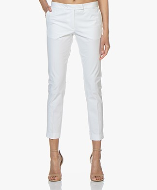Joseph Finley Polish Pants - White