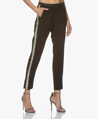 Zadig & Voltaire Paula Band Pants - Black