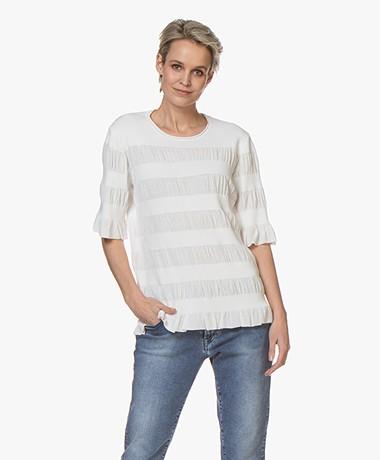 By Malene Birger Eurya High-twist Sweater - Soft White