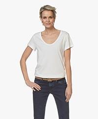 Denham Pacific Modalmix T-shirt - Off-white