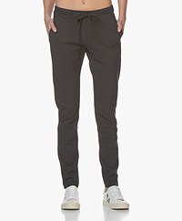 studio .ruig Bries Heavy Tech Jersey Pants - Anthracite