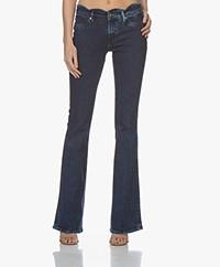 Denham Farrah Wave Ocean Flare Fit Jeans - Blauw