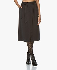 Josephine & Co Garry Viscose Paperbag Skirt - Black