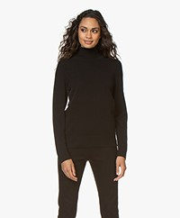 Repeat Luxury Cashmere Turtleneck - Black