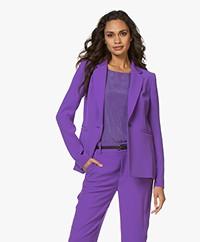 Drykorn Golders Crepe Blazer - Purple