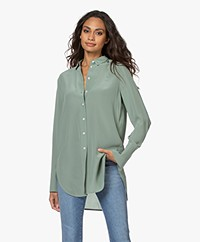 By Malene Birger Cologne Zijden Blouse - Lily Pad Groen