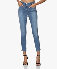 Closed Skinny Pusher Super Stretch Jeans - Middenblauw