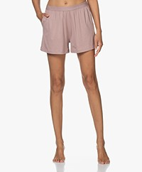 Organic Basics Tencel Jersey Short - Dusty Rose