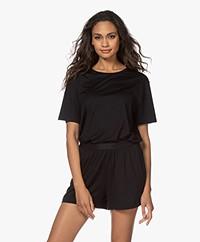 Organic Basics Tencel Jersey T-shirt - Zwart