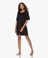 Organic Basics Tencel Jersey Nachthemd - Zwart