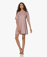 Organic Basics Tencel Jersey Nachthemd - Dusty Rose